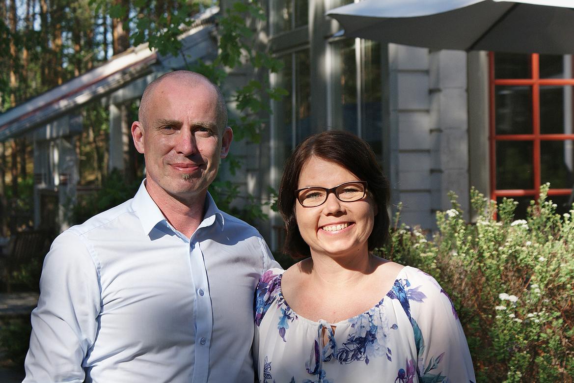 Petri ja Saija Nylund lähtevät toiseen asuntomessurojektiinsa luottavaisin mielin.